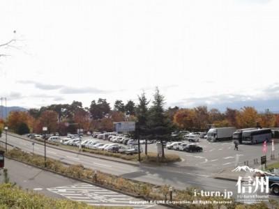 小布施スマートICの駐車場