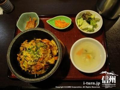 石焼タッカルビ丼定食