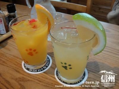 オレンジ、グレープフルーツジュース 400
