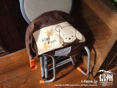子供用というより、幼児用の椅子がありました