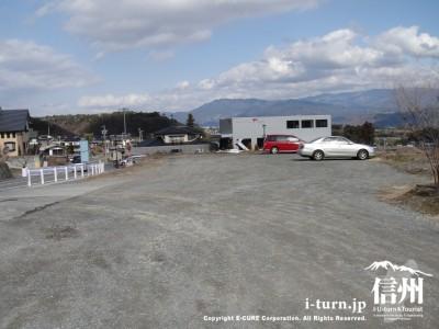 南信州フルーツライン沿い駐車場