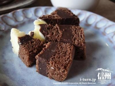 生チョコロールの試食