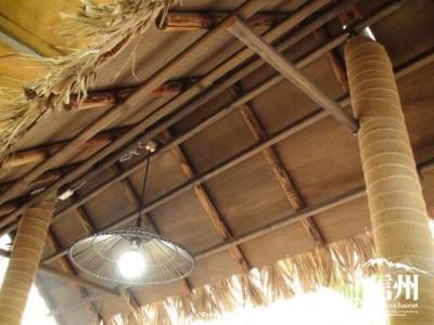 南国っぽい屋根