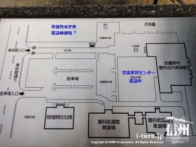 美術館周辺マップ