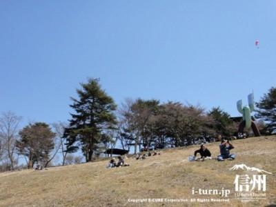 山頂の草原