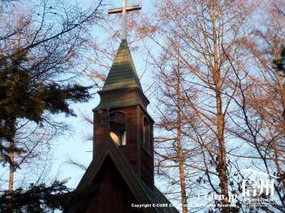 イブの教会の塔屋