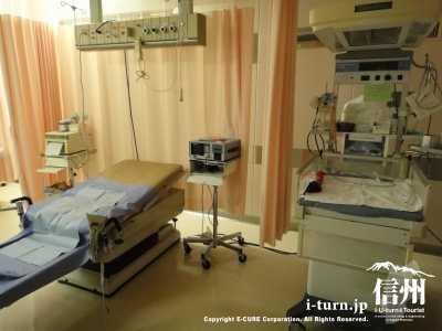 分娩室の中