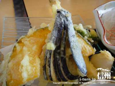 名立浜膳波の天ぷら