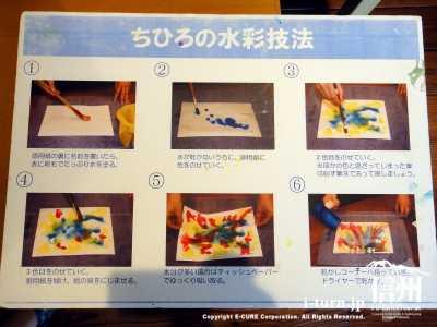 ちひろの水彩技法のやり方