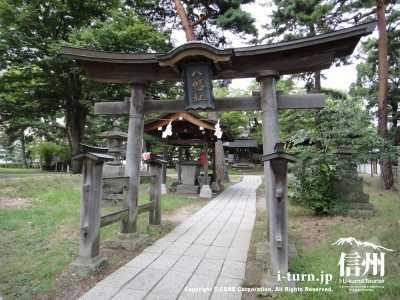 川中島八幡社の鳥居