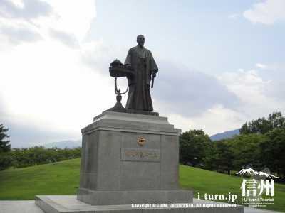 佐久間象山先生の銅像