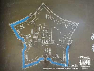 五稜郭の平面図