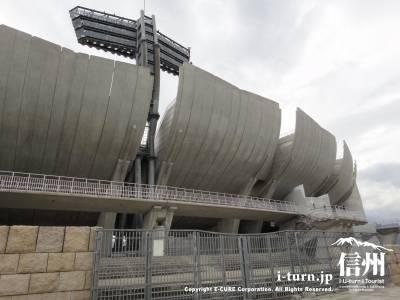 オリンピックスタジアムの外観