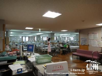篠ノ井総合病院の長野県最大の透析センター