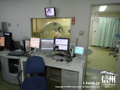 こちちらもX線CT装置で検査をしています