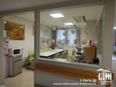 小児科にある待合室