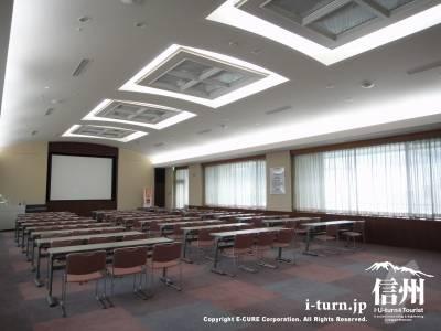 篠ノ井総合病院の講堂「あい」