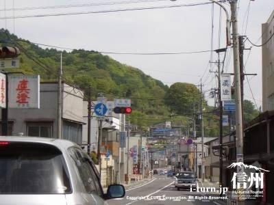 道路元町の交差点