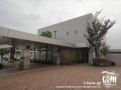 長野市民病院の長野市民病院訪問看護ステーション外観