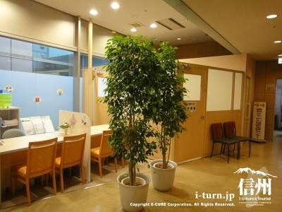 長野市民病院の入退院センター説明室