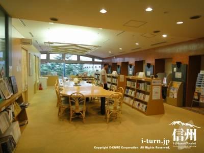 長野市民病院の図書館とインターネット端末