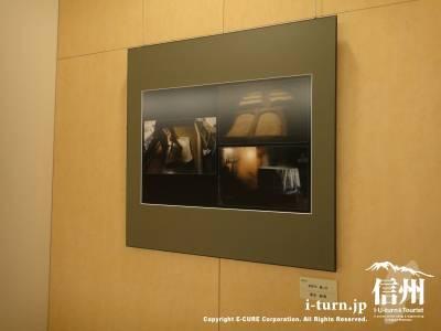 長野市民病院の廊下に飾ってあった写真