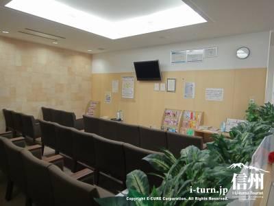 長野市民病院健診センターの待合所
