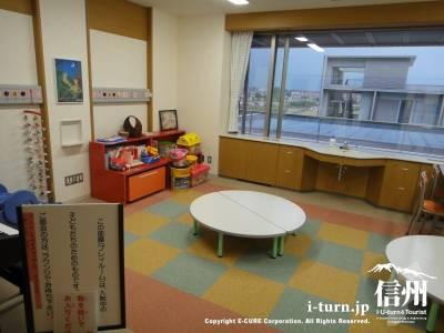長野市民病院の小児科病棟のプレイルーム