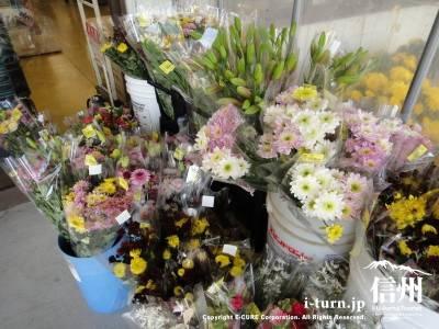 生花の陳列