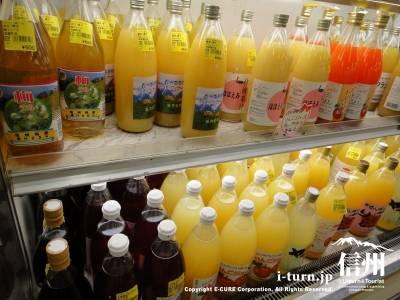 各種ジュースも売っています