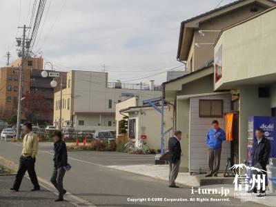 支那そばの凱歌から見た松本合同庁舎