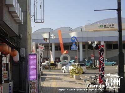 篠ノ井駅のすぐ前です