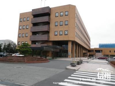 庁内の横断歩道