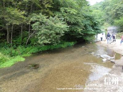 千ケ滝 水遊び場Ⅱ