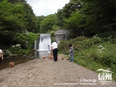 千ケ滝 水遊び場Ⅲ