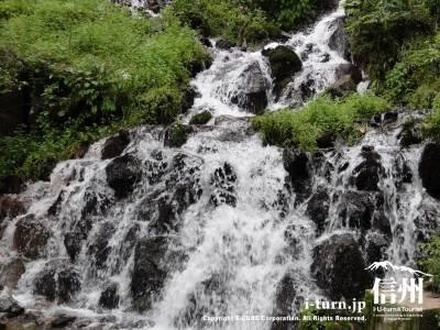 千ケ滝の滝壷Ⅶ滝壺の下流