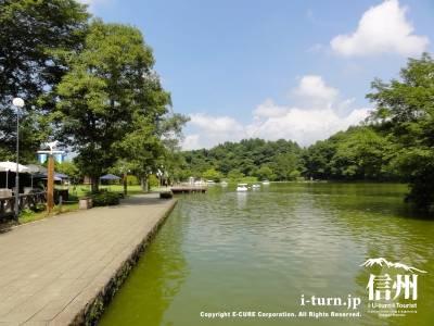 塩沢湖全景Ⅰ