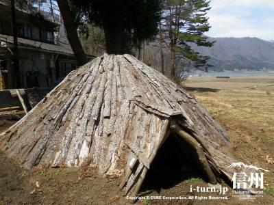 竪穴式縄文住居
