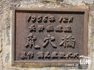 昔の橋名表示