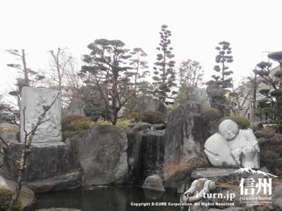 日本庭園風の池