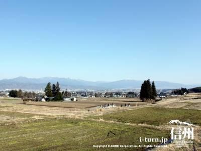 松本平方面の眺め