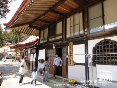 弘妙寺の玄関
