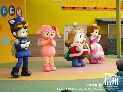 王国のキャラクターショー
