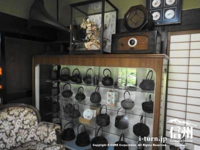 鉄瓶コレクション