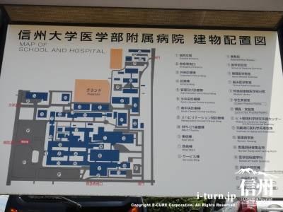 病院建物配置図