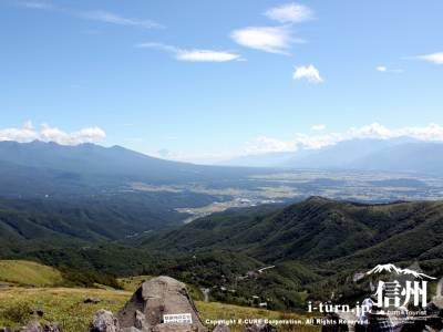 富士山方面の眺め