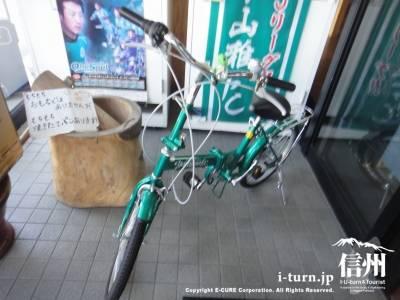 山雅仕様の自転車