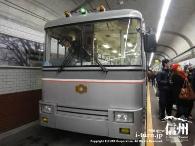 黒部ダム駅構内