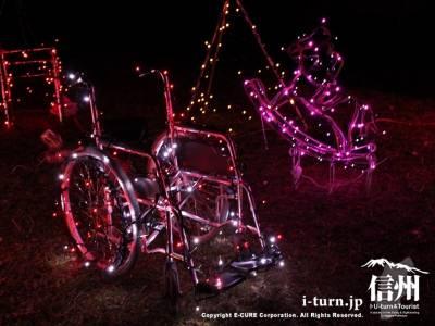 車椅子イルミネーション