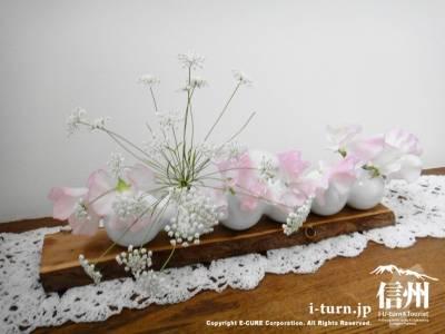 かわいい生け花
